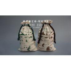 中秋十斤帆布大米袋定制 帆布杂粮袋定做面粉袋订做