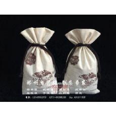 河南大米袋帆布杂粮袋定做厂家 开封帆布袋定做生产帆布大米袋