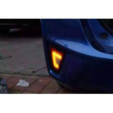 新飞度后杠灯,四功能:刹车、行车、转向、倒车 太原改电尾门 太原改灯