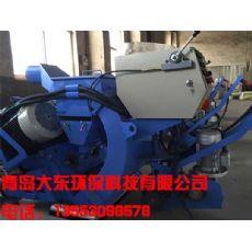 供应:双抛头路面抛丸机、高效率路面打毛设备青岛大东铸造
