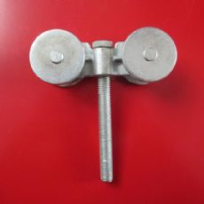 华信达专业生产 金属镀锌吊轮 250吊轮