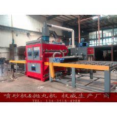 北京不锈钢板双面喷砂机