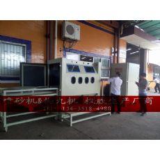 上海自动喷砂机厂家上海不锈钢板喷砂机