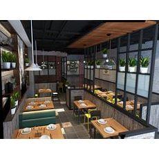 大连主题情景式餐厅设计装修哪家更好 鞍山私房菜饭店设计装修公司