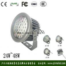 供应圆形48W窄角度LED投光灯