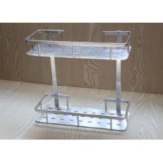 邦洁皇金属制品厨房置物架作用怎么样:置物架厂家