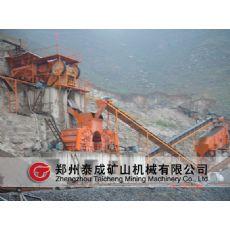甘肃硬岩石料生产线