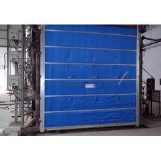 晶宇金属门窗厂专业的无机布防火卷帘门出售 优质的无机布防火卷帘门