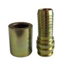 浙江荣塑供应质量较好的矿用高压液压管快接二层扣压|扣压KJ10*2