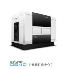 大连誉洋KINMAC DS40压盘刹车盘等回转体铸件智能打磨设备