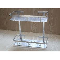【厂家推荐】质量良好的厨房置物架动态,太空铝置物架