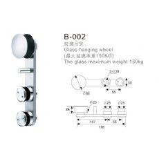 规模大的玻璃吊轮生产厂家 中国玻璃门夹