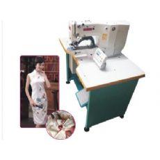 中缝针车城电脑自动一字扣缝扣机价钱怎么样|窗帘自动化设备