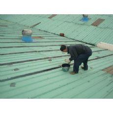 江门市蓬江区福升锌铁瓦整体交接缝防水补漏