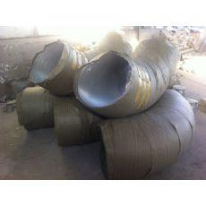沧州衬胶钢管大口径对焊衬胶弯头给您报新价格