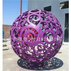 超值的不锈钢镂空球雕塑当选佳景雕塑