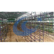 蘑菇培养架-采用优质工程料-包塑处理