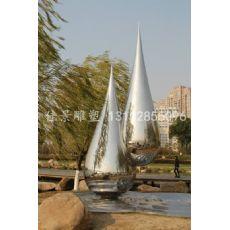 不锈钢水滴雕塑 公园景观雕塑