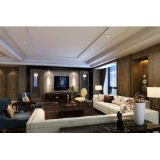郑州别墅装饰设计现代风格别墅装修设计效果