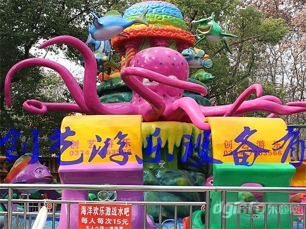 创艺厂家直销供应海洋欢乐岛大型户外儿童水上游乐设施公园效益好人气