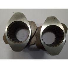 6542料,38料,CR12料挤出机螺纹元件,挤出机配件螺纹元件,挤出机螺套,南京科尔特