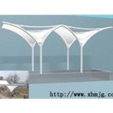 陇南膜结构-造型柔美的休闲广场景观膜结构
