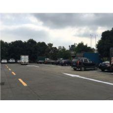 罗湖小区消防通道划线、停车场地面画字施工
