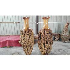 河南销量好的枣木花瓶供应|枣木花瓶定制厂家