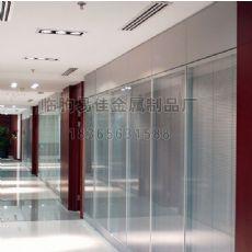 高质量的高隔间型材厂家特供:内置中空百叶玻璃批发