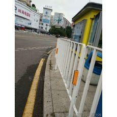 低价促销优质实用白色人行道隔离护栏价格实在