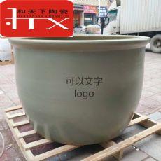 景德镇泡澡缸厂家 一米极乐汤陶瓷洗浴大缸 洗浴中心陶瓷泡澡缸
