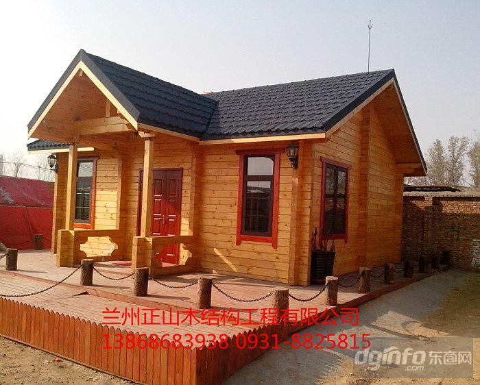 兰州防腐木木屋加工生产厂家 装配式木屋就是快13868683938图片