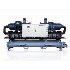 广安制冷机出厂价300HP低温螺杆冷水机