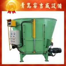 固定式山西9立变频电机TMR饲料搅拌机