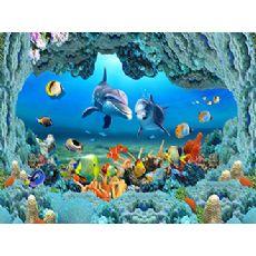 3D海洋海景背景墙什么牌子好|优质3D海洋海景背景墙火爆热销