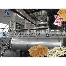 海产品低温油浴脱水干燥机,海产品真空油炸机,大型海产品深加工设备