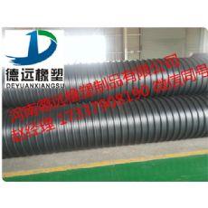 鹤壁钢带波纹管 鹤壁钢带增强波纹管 鹤壁钢带地埋排污管厂家