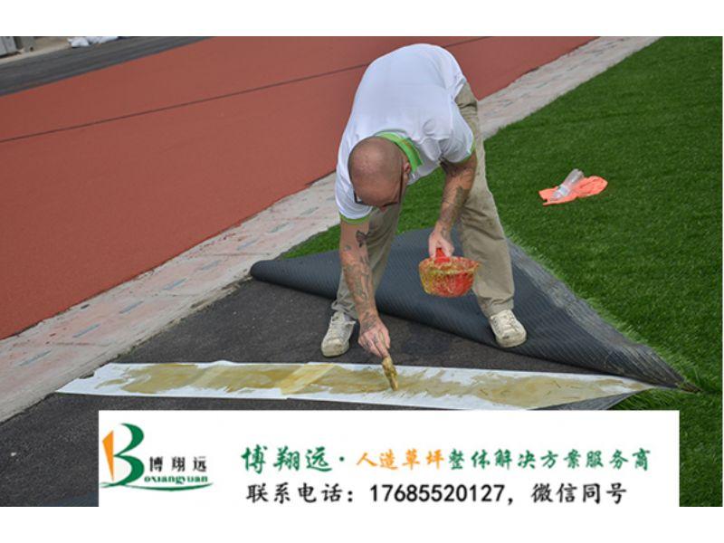 足球场人造草坪铺设方法(案例分享:成都