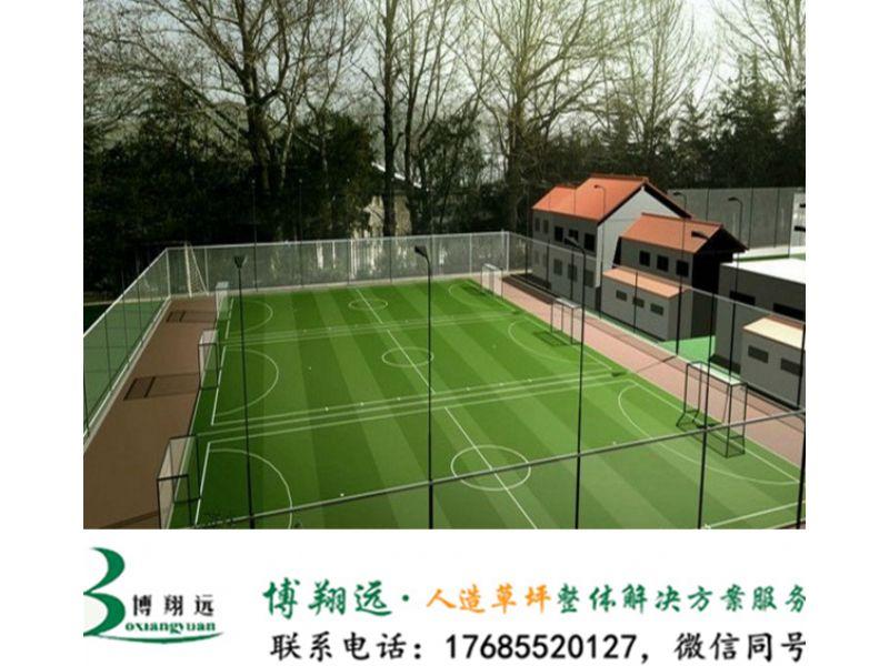人造草足球场材料(案例分享:临沧、连云港)