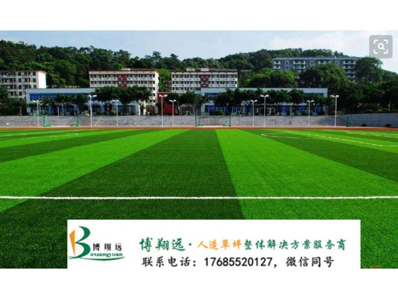足球场人工草坪施工步骤(案例分享:东莞、温州)
