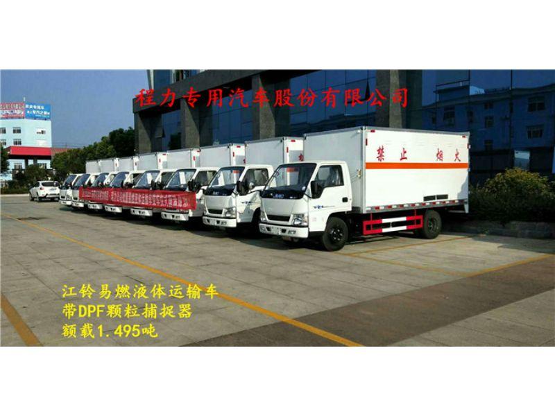 东风8类厢式危险品运输车市场分析