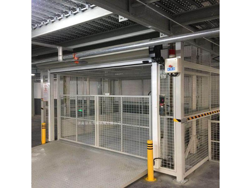 遵化市导轨式升降机=载货升降货梯承载1吨价格
