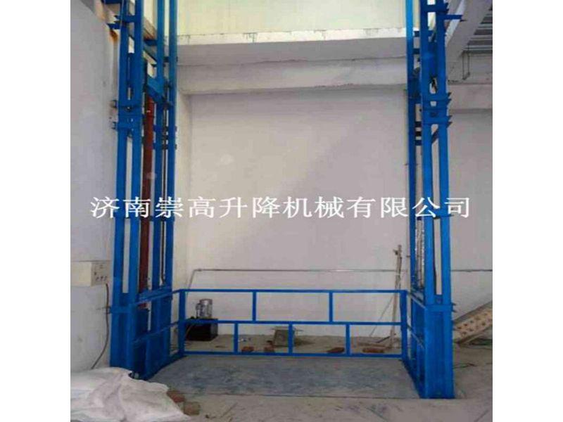 内蒙古导轨式升降机=载货升降货梯台面2*3价格