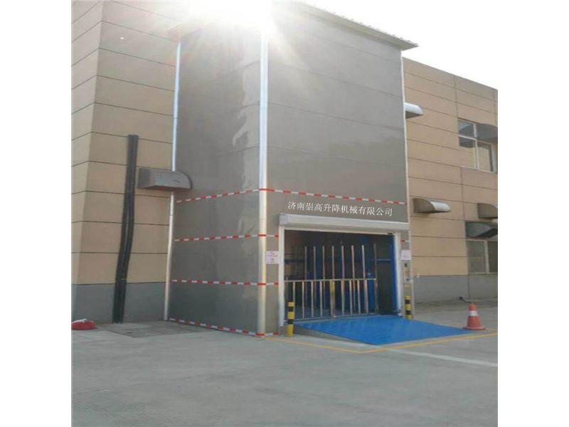 宝坻区导轨式升降机=载货升降货梯1到2层5米价格