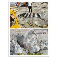 璧山信阳开采石英石劈裂机分石器