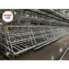 铝型材货架,仓储货架,工业型材货架,铝型材线棒货架
