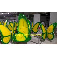 玻璃鋼蝴蝶雕塑