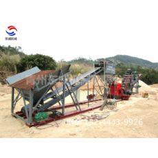 山东省破碎洗沙机可实现岩石风化沙处理加工成耐用性强的沙子