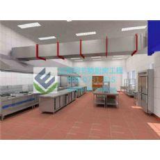 厨房工程厂商_长沙艾默柯中央厨房工程