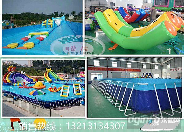 浙江游乐园充气水滑梯设备厂家儿童充气水滑梯价格|东